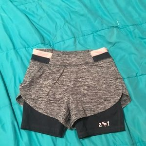Abercrombie kids athletic shorts